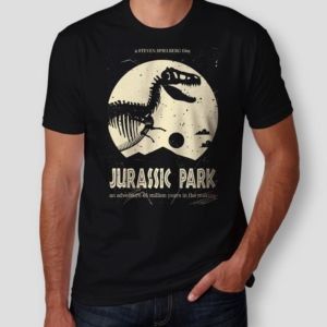 Camiseta Jurassic Park Masculina Capa