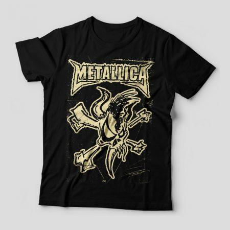 Camiseta Metallica Feminina Capa