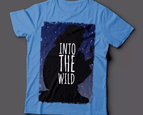 Camiseta Into The Wild Na Natureza Selvagem Feminina