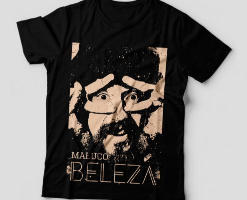 Camiseta Raul Seixas Maluco Beleza Feminina Capa
