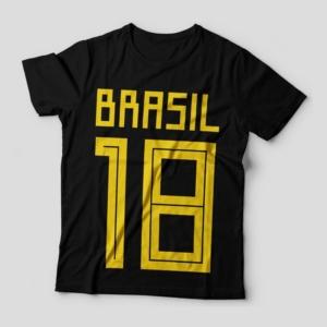 Camiseta Brasil 2018 Feminina Capa