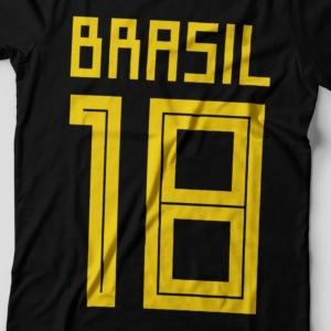 Camiseta Brasil 2018 Feminina Zoom
