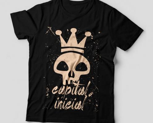Camiseta Capital Inicial Feminina Capa