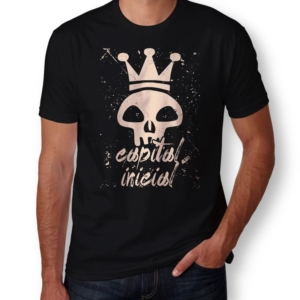 Camiseta Capital Inicial Masculina Capa