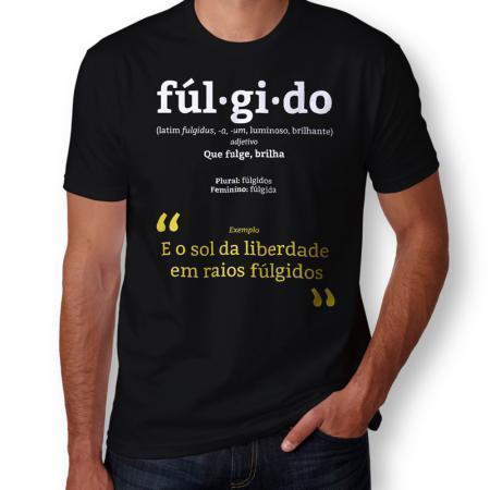 Camiseta Fúlgido Masculina Capa