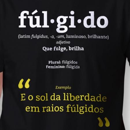 Camiseta Fúlgido Masculina Zoom