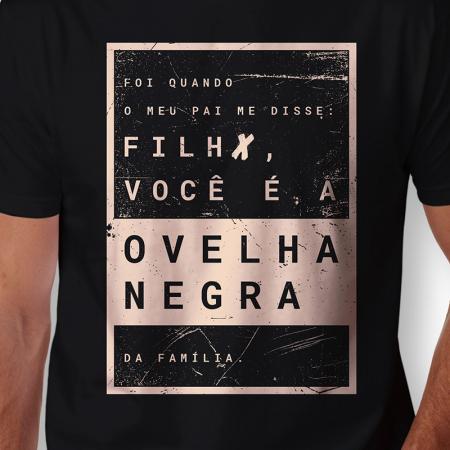 Camiseta Ovelha Negra Arte