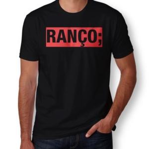 Camiseta Ranço Masculina Preta