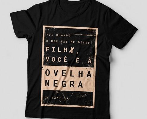 Camiseta Rita Lee Feminina Capa