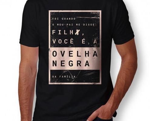 Camiseta Rita Lee Masculina Capa