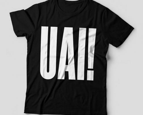 Camiseta UAI feminina capa
