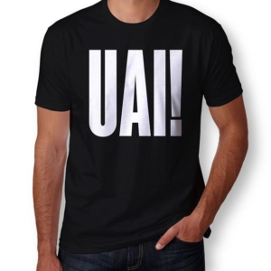 Camiseta UAI masculina capa