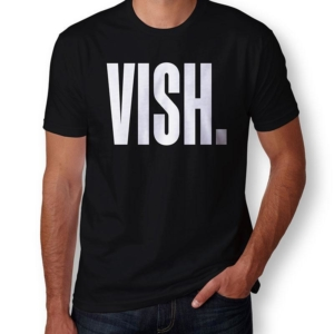 Camiseta VISH masculina capa