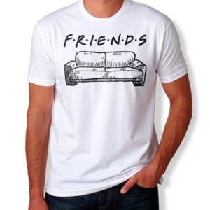 Camiseta Friends Masculina Capa